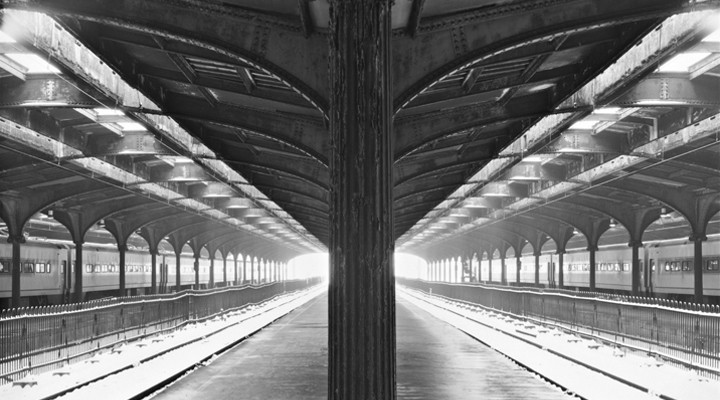 Hoboken Train Station, New Jersey Photograph © Brian Lav