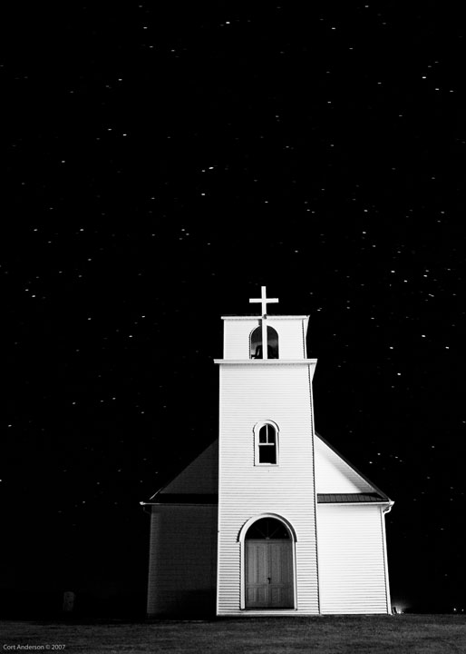 Night Church, © Cort Anderson, 2007