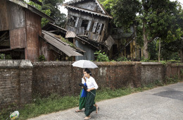 Crooked House, Yangon Myanmar, Photograph © Chris Boswell